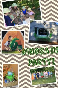 dino Bday Collage