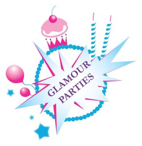 Glamour girls Party Logo