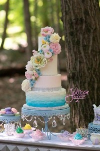 Jolirose Enchanted Wedding Cake
