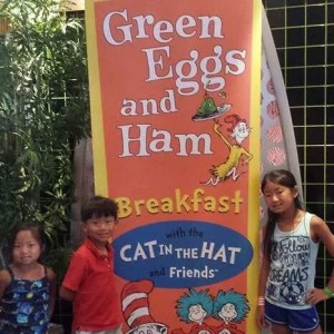 Cat in the Hat Character Breakfast