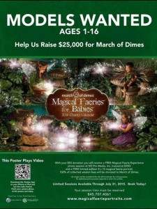 Faerie Promotion March of Dimes