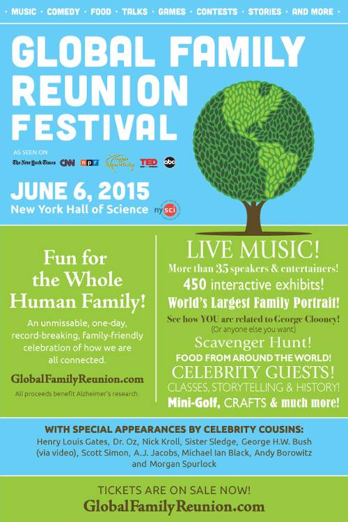 Global Family Reunion Flyer