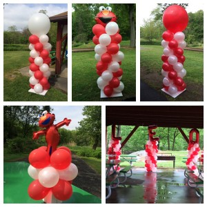 AMS Balloons Review Elmo Party Collage