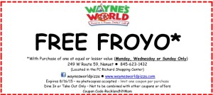 Waynes World Coupon
