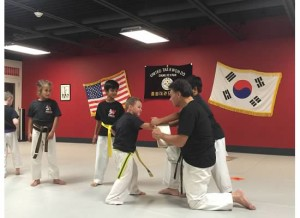A TKD Board Breaking