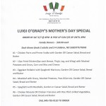 Mothers day special Luigis 2016