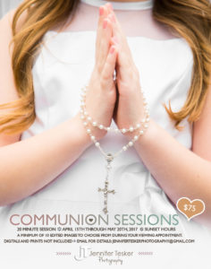 JTP Communion Flyers