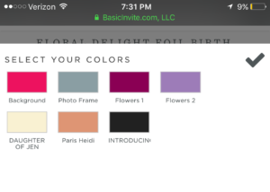 basic invite new colors